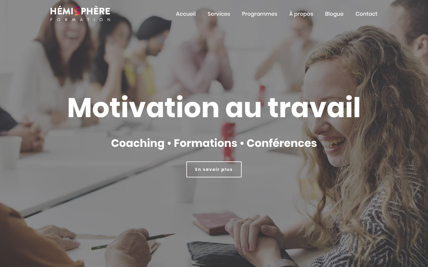 Hémisphère Formation par 3leadership Marketing web pour PME